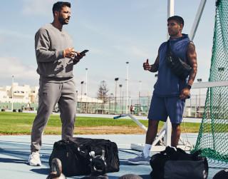 Odzież sportowa dla mężczyzn Under Armour, Diadora, Nike